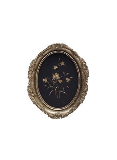 Warm Design Çiçek Duvar Dekoru Siyah